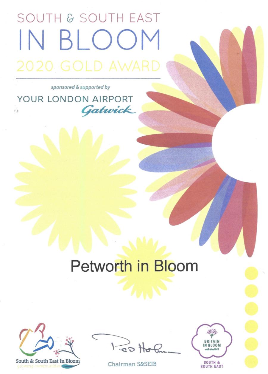 Petworth In Bloom Award